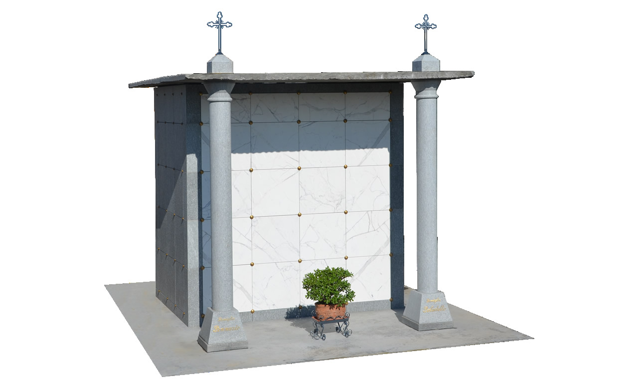 precast family tombs and chapels